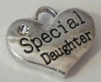 Special Daughter Wine Glass Charms